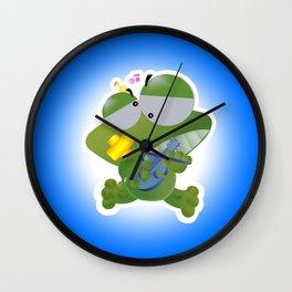 Keropi Wall Clock