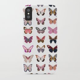 Pink Butterflies iPhone Case