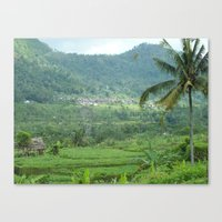 indonesia Canvas Prints featuring Indonesia by Melia Metikos