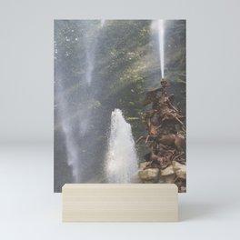 Garden Fountain Mini Art Print
