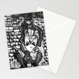 French art on the wall Stationery Cards