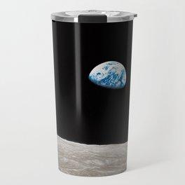 Earthrise William Anders Travel Mug