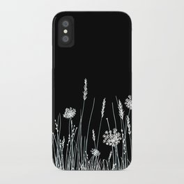 Meadow at Night iPhone Case