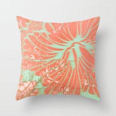 Vintage Aloha Throw Pillow