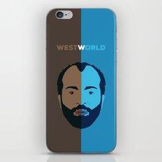 Westworld Vector Art - Bernard iPhone & iPod Skin