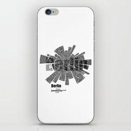 Berlin Map iPhone Skin