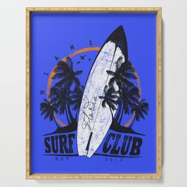 Summer Time - Surf Club Serving Tray