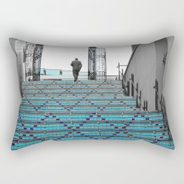 Mystery Man on the Blue Stairway to Heaven, Kansas City Rectangular Pillow