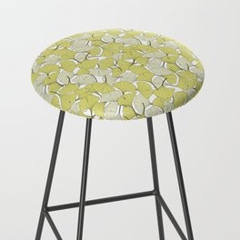 ginkgo leaves (special edition) Bar Stool