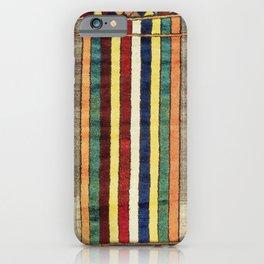 Bakhtiari Chahar Mahal Persian Gabbeh Rug Print iPhone Case
