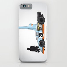 Outline Series N.º4, Steve McQueen, Porsche 917, Le Mans movie 1971 iPhone 6s Slim Case