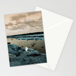 Barnegat Light 3 (seagull) Stationery Cards