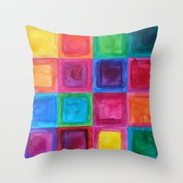 Tiled abstract 1 Throw Pillow