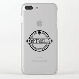 Rose Bride Apothecary Clear iPhone Case
