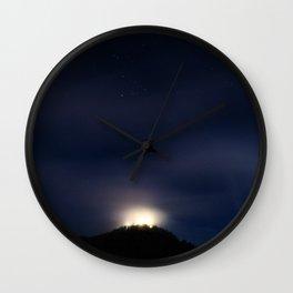 Night. Wall Clock