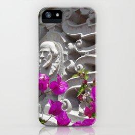 Hearst castle bougainvillea iPhone Case