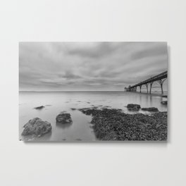 1046253 Clevedon Pier Metal Print