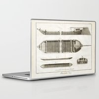 boats Laptop & iPad Skins featuring Boats by Le petit Archiviste