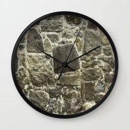 Weathered Stone Wall rustic decor Wall Clock