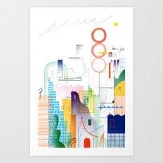 Big City Art Print