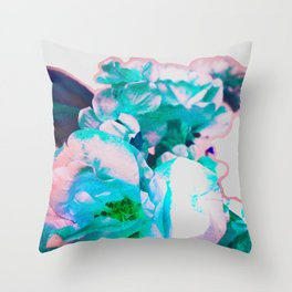 bright and scratchy Throw Pillow