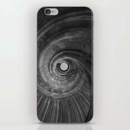 Sand stone spiral staircase 001 iPhone Skin