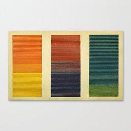 Antique Color Grades Canvas Print