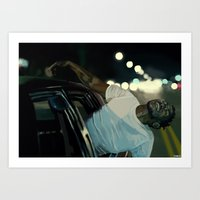 kendrick lamar Art Prints featuring Kendrick Lamar by Tomcii