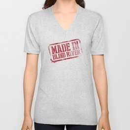 Made in Blind River Unisex V-Neck