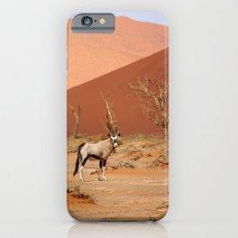 NAMIBIA ... Sossusvlei Oryx II iPhone Case
