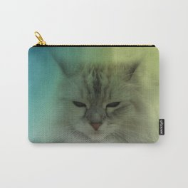 the cat is watching you Carry-All Pouch