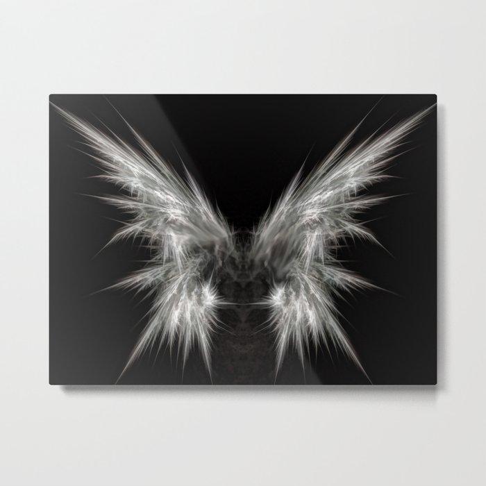 Ghost Moth Metal Print