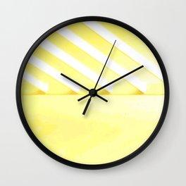 Desert Rays Wall Clock