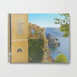 Varenna Vista, Lake Como Metal Print