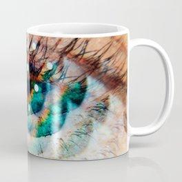 Green Eyes Hypnotize Coffee Mug