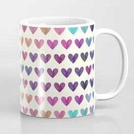 Colorful hearts III Coffee Mug