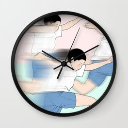 RUSH Wall Clock