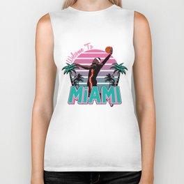"""The Victrs """"Welcome To Miami"""" Biker Tank"""