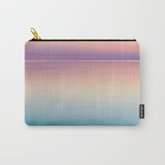 Color Layers Sunrise Sea Carry-All Pouch