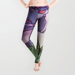Purple and Pink Leggings