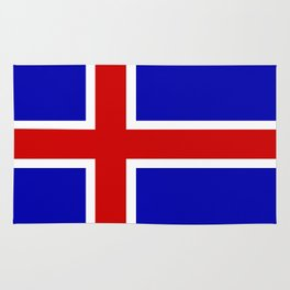 iceland country flag Rug
