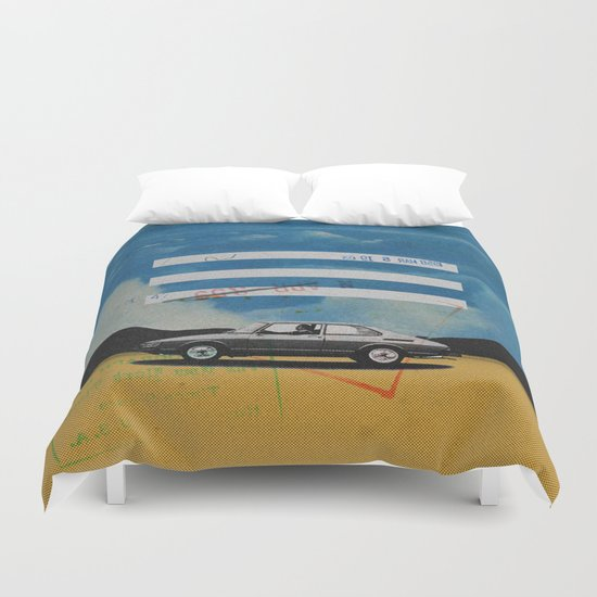 W. Rong | Collage Duvet Cover