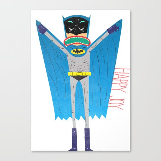 The Bat Mang! Canvas Print