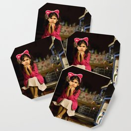 Girls want to have fun. Coaster
