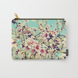 Nectarine Blossoms Carry-All Pouch