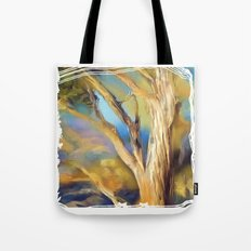wacom textural study / tree Tote Bag