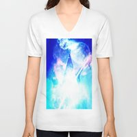 prism V-neck T-shirts featuring prism by Alyxka Pro