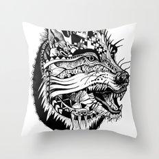 Ferocious Beauty Throw Pillow