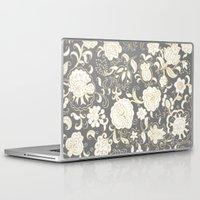 boho Laptop & iPad Skins featuring boho paisley by Ariadne