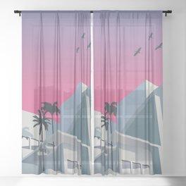Miami Nice Sheer Curtain
